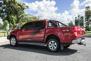 2014 Holden Colorado RG MY14 LTZ Crew Cab Red 6 Speed Sports Automatic Utility