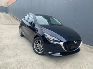 2020 Mazda 2 DJ2HAA G15 SKYACTIV-Drive Evolve Deep Crystal Blue 6 Speed Sports Automatic Hatchback.