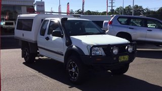 2005 Holden Rodeo RA MY05 LX Space Cab White 5 Speed Manual Utility
