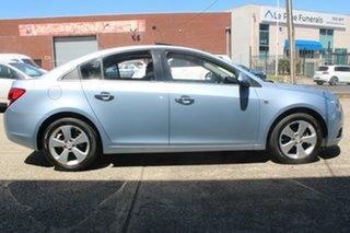 2010 Holden Cruze JG CDX Sky Blue 6 Speed Automatic Sedan