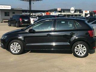 2015 Volkswagen Polo 6R 81TSI Comfortline Black Sports Automatic Dual Clutch Hatchback