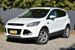 2013 Ford Kuga TF Trend AWD White 6 Speed Sports Automatic Wagon.