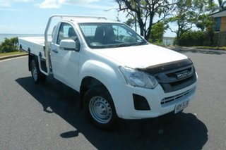 2017 Isuzu D-MAX MY17 SX 4x2 High Ride White 6 Speed Sports Automatic Cab Chassis.