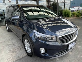 2015 Kia Carnival YP MY15 SI Blue 6 Speed Automatic Wagon.