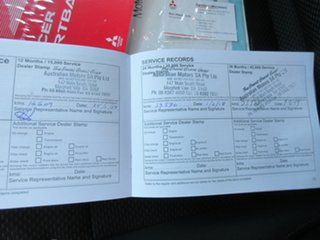 2015 Mitsubishi Lancer CJ MY15 GSR Sportback Blue 5 Speed Manual Hatchback