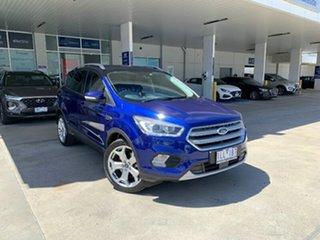 2018 Ford Escape ZG 2018.00MY Titanium Blue 6 Speed Sports Automatic SUV.
