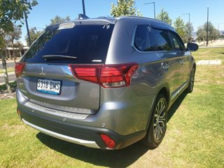 2016 Mitsubishi Outlander ZK MY16 Exceed 4WD Grey 6 Speed Constant Variable Wagon.