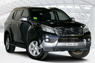 2016 Isuzu MU-X UC MY15.5 LS-T (4x2) Cosmic Black 5 Speed Automatic Wagon.