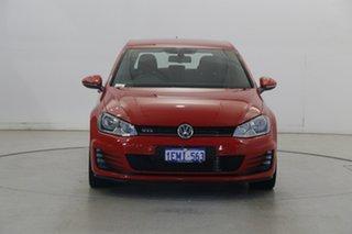 2014 Volkswagen Golf VII MY14 GTi Tornado Red 6 Speed Manual Hatchback.