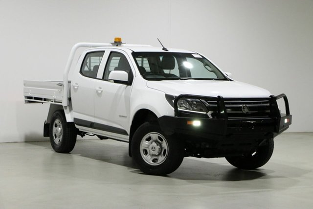 Used Holden Colorado RG MY16 LS (4x2) Bentley, 2017 Holden Colorado RG MY16 LS (4x2) White 6 Speed Automatic Crew Cab Chassis