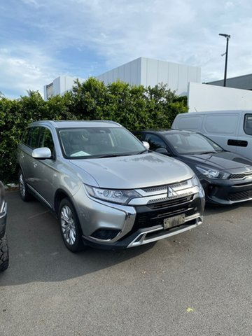 Used Mitsubishi Outlander ZL MY20 ES AWD Mount Gravatt, 2020 Mitsubishi Outlander ZL MY20 ES AWD Silver 6 Speed Constant Variable Wagon