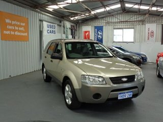 2006 Ford Territory SY TS AWD Gold 6 Speed Sports Automatic Wagon.