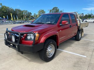 2009 Holden Colorado RC MY09 LX (4x4) Red 5 Speed Manual Crew Cab Pickup