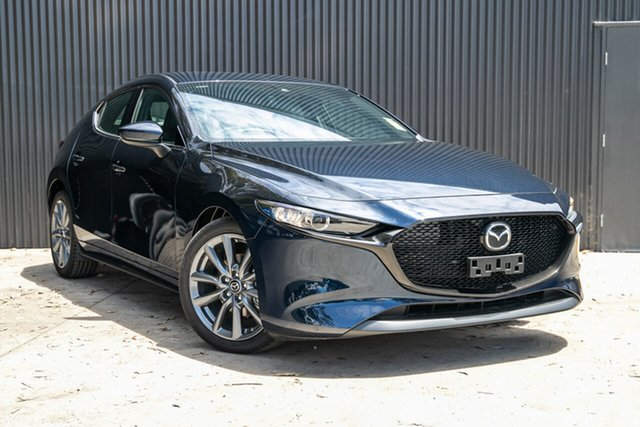 New Mazda 3 BP2H7A G20 SKYACTIV-Drive Touring Mornington, 2020 Mazda 3 BP2H7A G20 SKYACTIV-Drive Touring Deep Crystal Blue 6 Speed Sports Automatic Hatchback