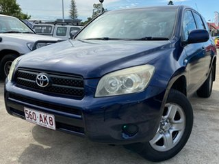 2007 Toyota RAV4 ACA33R CV Blue 4 Speed Automatic Wagon.
