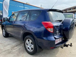 2007 Toyota RAV4 ACA33R CV Blue 4 Speed Automatic Wagon