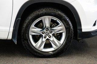 2015 Toyota Kluger GSU55R Grande (4x4) Crystal Pearl 6 Speed Automatic Wagon