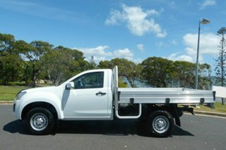 2017 Isuzu D-MAX MY17 SX 4x2 High Ride White 6 Speed Sports Automatic Cab Chassis