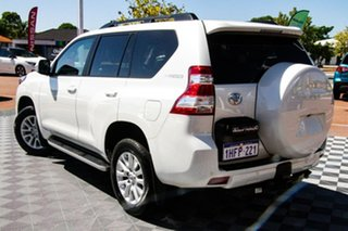 2015 Toyota Landcruiser Prado KDJ150R MY14 VX White 5 Speed Sports Automatic Wagon.