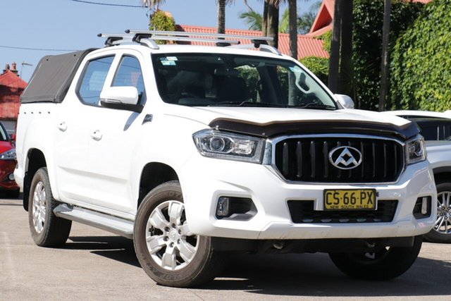 Pre-Owned LDV T60 SKC8 Pro (4x4) Mosman, 2018 LDV T60 SKC8 Pro (4x4) White 6 Speed Manual Double Cab Utility