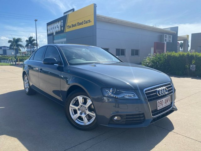 Used Audi A4 B8 8K MY11 Multitronic Townsville, 2011 Audi A4 B8 8K MY11 Multitronic Grey 8 Speed Constant Variable Sedan