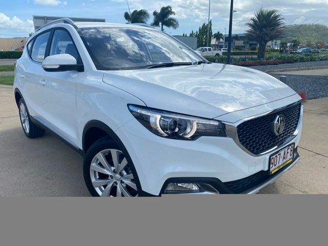 Used MG ZS AZS1 MY20 Excite 2WD Townsville, 2020 MG ZS AZS1 MY20 Excite 2WD White 4 Speed Automatic Wagon