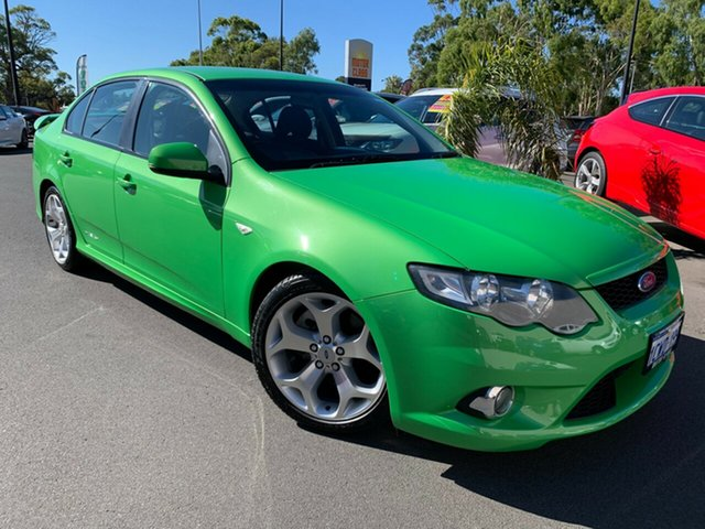Used Ford Falcon FG XR6 Turbo Bunbury, 2008 Ford Falcon FG XR6 Turbo Green 6 Speed Manual Sedan