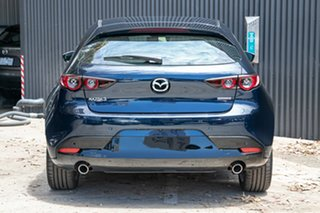 2020 Mazda 3 BP2H7A G20 SKYACTIV-Drive Touring Deep Crystal Blue 6 Speed Sports Automatic Hatchback
