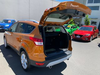 2016 Ford Kuga TF MY16.5 Trend AWD Orange 6 Speed Sports Automatic Wagon
