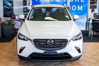 2020 Mazda CX-3 DK2W76 Maxx SKYACTIV-MT FWD Sport White 6 Speed Manual Wagon.