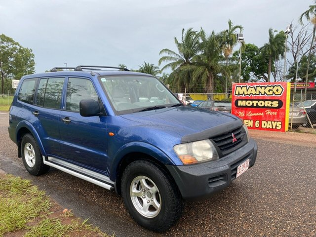 Used Mitsubishi Pajero NM GLX Pinelands, 2000 Mitsubishi Pajero NM GLX Blue 5 Speed Sports Automatic Wagon