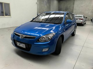 2011 Hyundai i30 FD MY11 SLX Blue 4 Speed Automatic Hatchback.