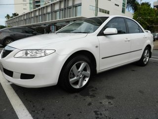 2003 Mazda 6 GG Classic White 4 Speed Auto Activematic Sedan.