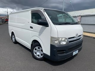 2006 Toyota HiAce KDH201R LWB White 5 Speed Manual Van.