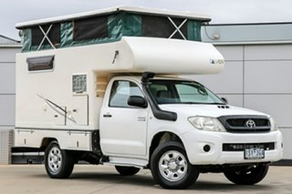 2010 Toyota Hilux 4x4 White 5 Speed Manual Motor Home.