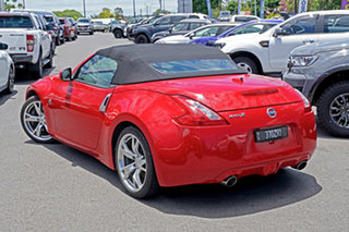 2010 Nissan 370Z Z34 Red 7 Speed Sports Automatic Roadster.