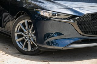 2020 Mazda 3 BP2H7A G20 SKYACTIV-Drive Touring Deep Crystal Blue 6 Speed Sports Automatic Hatchback.