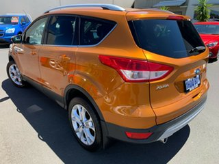 2016 Ford Kuga TF MY16.5 Trend AWD Orange 6 Speed Sports Automatic Wagon.
