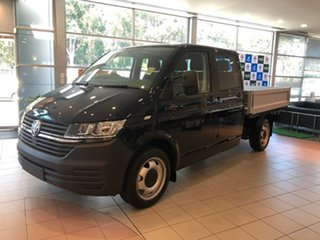 2020 Volkswagen Transporter T6.1 MY21 TDI450 LWB DSG 4MOTION Black 7 Speed.