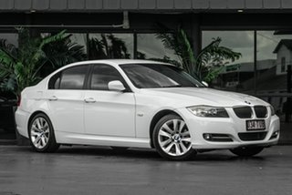 2010 BMW 3 Series E90 MY10 320i Steptronic Executive White 6 Speed Sports Automatic Sedan.