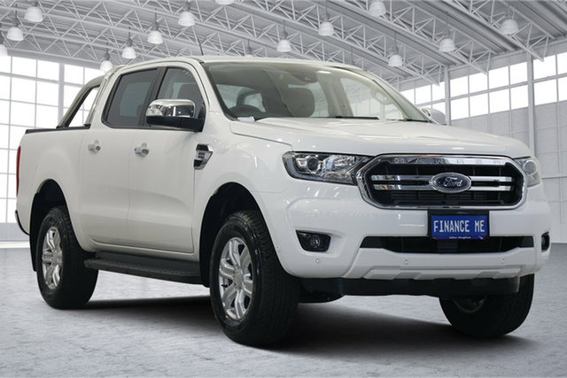 Used Ford Ranger PX MkIII 2019.75MY XLT Victoria Park, 2019 Ford Ranger PX MkIII 2019.75MY XLT White 10 Speed Sports Automatic Double Cab Pick Up