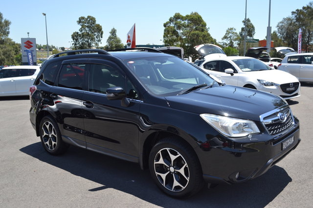 Used Subaru Forester S4 MY14 2.5i-S Lineartronic AWD Maitland, 2014 Subaru Forester S4 MY14 2.5i-S Lineartronic AWD Black 6 Speed Constant Variable Wagon
