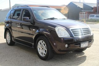 2007 Ssangyong Rexton Y200 MY07 RX270 Sports Maroon 5 Speed Auto Steptronic Wagon.