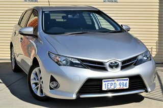 2014 Toyota Corolla ZRE182R Ascent Sport Silver 6 Speed Manual Hatchback.
