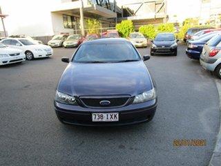 2004 Ford Falcon BA MkII XT Purple 4 Speed Auto Seq Sportshift Sedan.