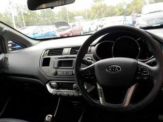 2012 Kia Rio UB MY13 SLS Black 6 Speed Manual Hatchback
