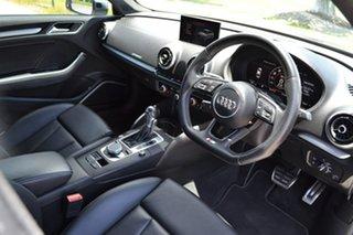 2016 Audi S3 8V MY17 S Tronic Quattro Grey 7 Speed Sports Automatic Dual Clutch Sedan