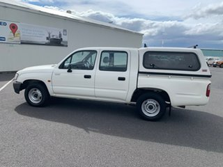 2004 Toyota Hilux RZN149R MY02 4x2 White 5 Speed Manual Utility