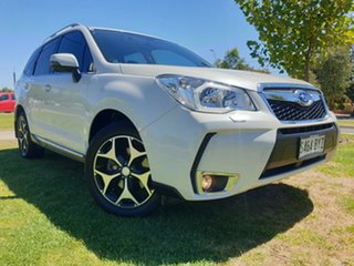2015 Subaru Forester S4 MY15 XT CVT AWD Premium White 8 Speed Constant Variable Wagon.
