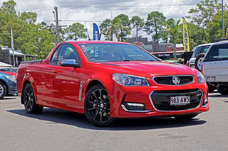 2015 Holden Ute VF II MY16 SS V Ute Red 6 Speed Sports Automatic Utility